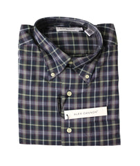Alex Cannon Men's Dress Shirt, Stylish Stripes, Size M, NWT
