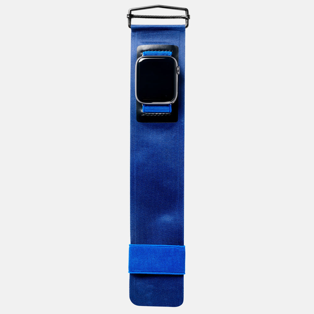 Retro Blue Sport Band