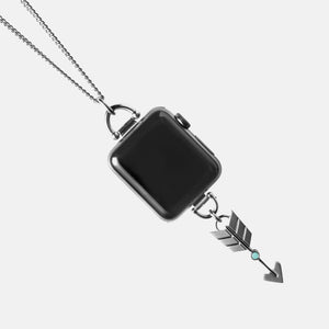 Load image into Gallery viewer, Apple Watch Charm Necklace Arrow