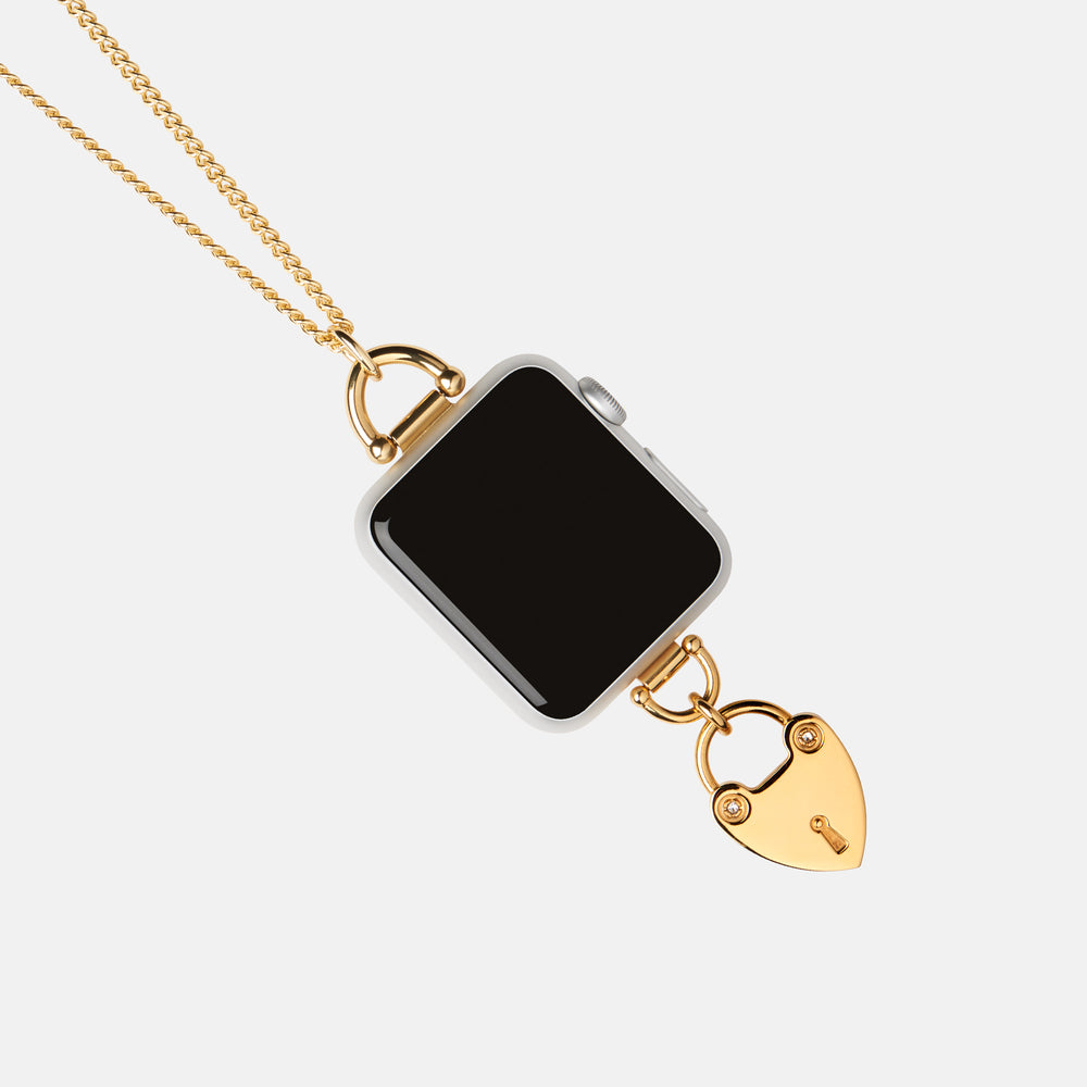 Apple Watch Charm Necklace Heartlock