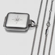 Silver Starburst Locket 42mm/SERIES 1