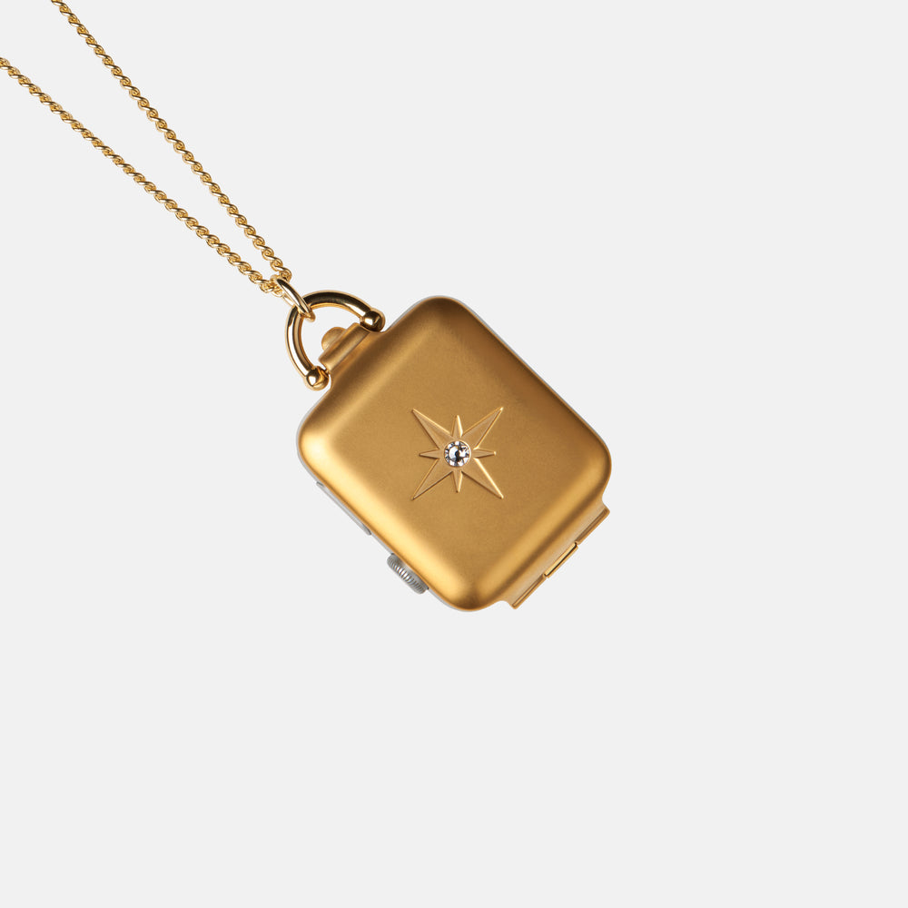 Gold Starburst Locket 42mm/SERIES 1