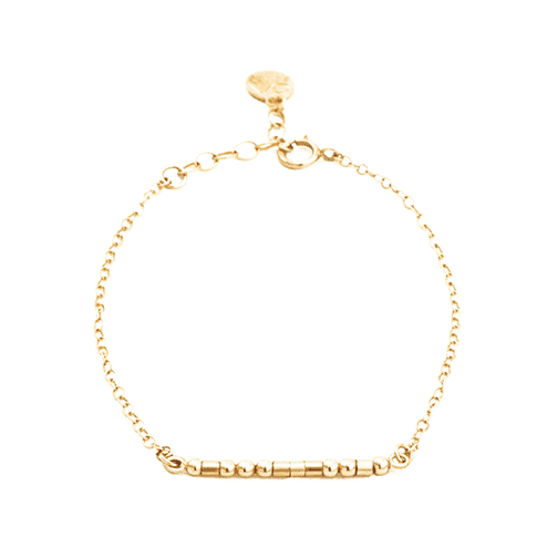 """Mama"" Bracelet - 14k Gold Filled - Good World Goods"