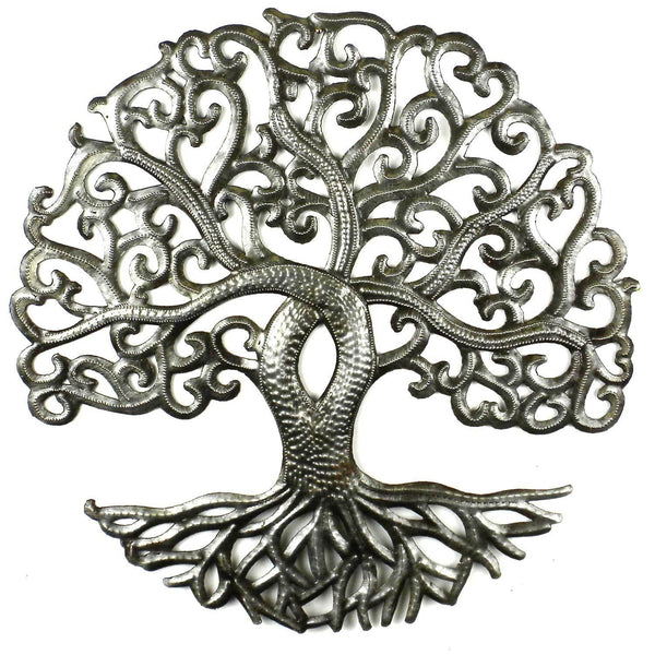 14 inch Tree of Life Curly - Croix des Bouquets - Good World Goods