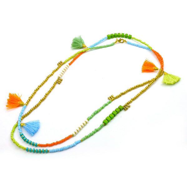 Kerala 3-in-1 Necklace Island - Global Groove (J) - Good World Goods