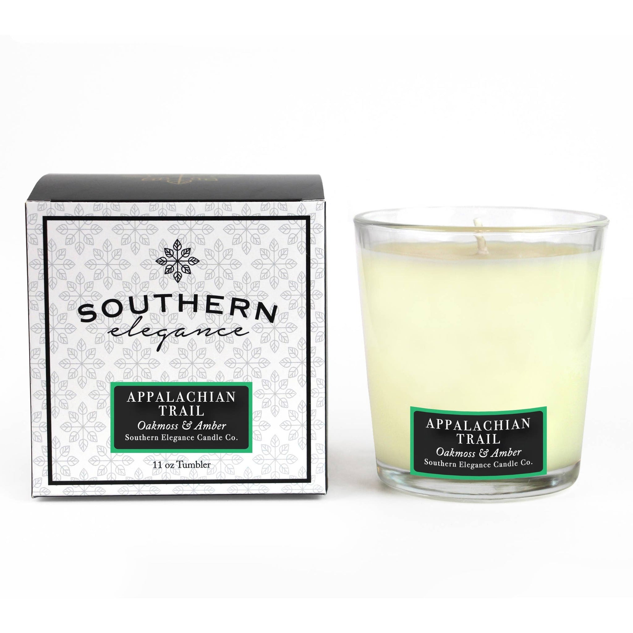 Southern Elegance Candle Co. - Tumbler: Appalachian Trail (Oak Moss & Amber) - Good World Goods