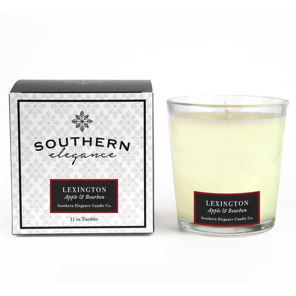 Southern Elegance Candle Co. - Tumbler: Lexington (Apples & Bourbon) - Good World Goods