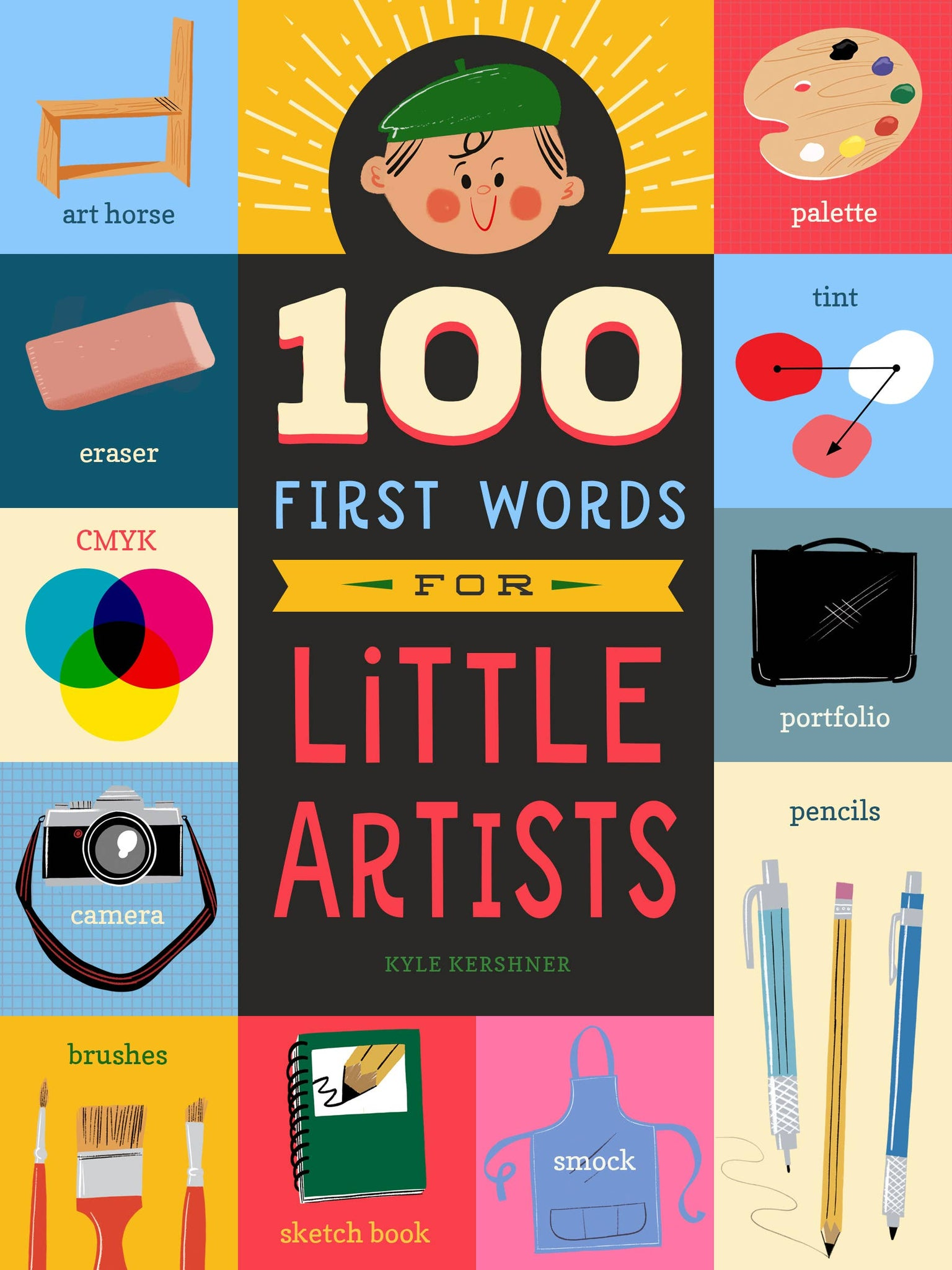 100 First Words for Little Artists - Good World Goods