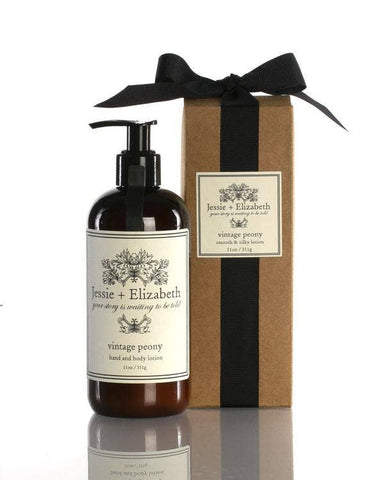 11 oz Vintage Peony Smooth and Silky Lotion - Good World Goods