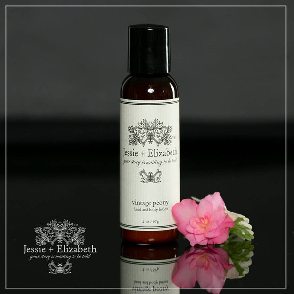 2 oz Vintage Peony Smooth and Silky Lotion