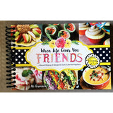 Fun colorful Recipe Book selection - Good World Goods