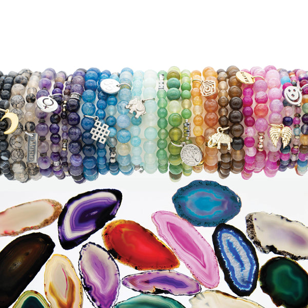 Agate Bracelets With A Cause - Empowering Women and Girls