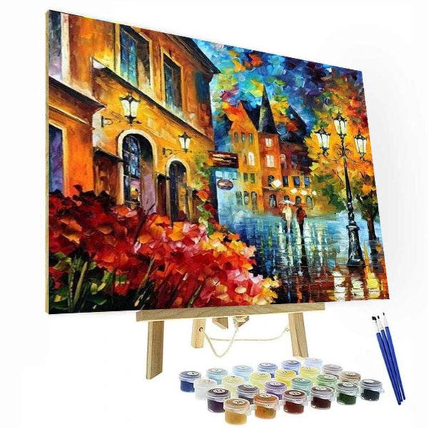 Painting By Numbers Kit - European City