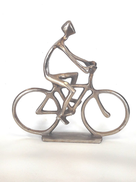 Bicyclist Hand Forged