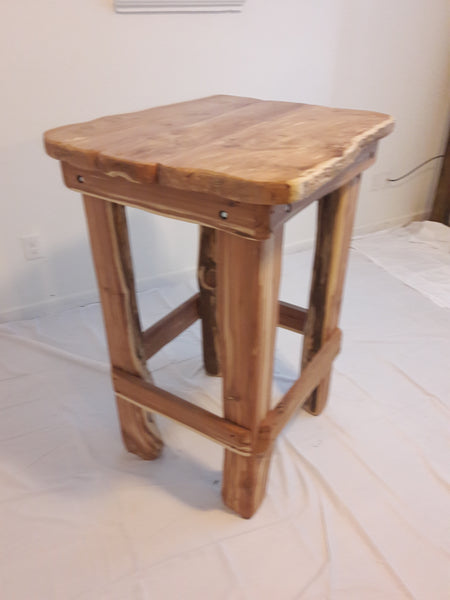 Solid Cedar Pub Table. Sold but we can make more! - Good World Goods