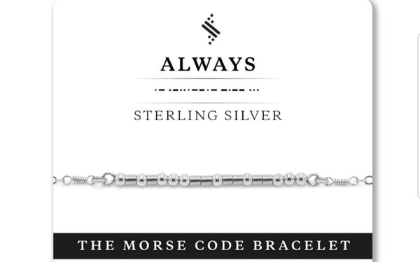 Always Bracelet - Sterling Silver - Good World Goods
