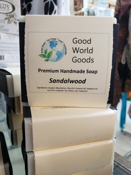 GWG Premium Soap - Sandalwood