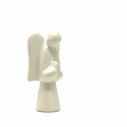 Global Crafts - Soapstone Angel Sculpture - Natural Stone