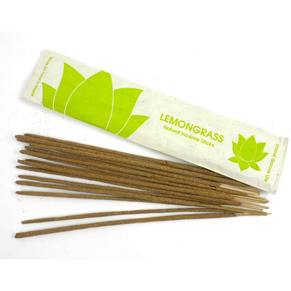Stick Incense, Lemongrass - Global Groove (I) - Good World Goods