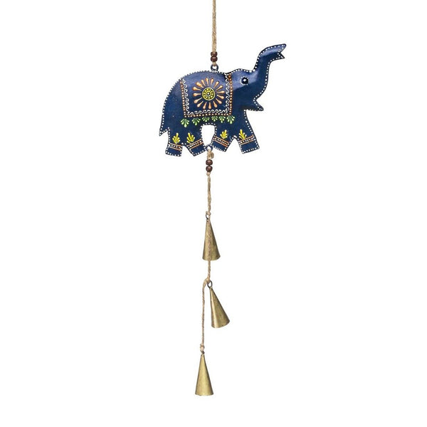Henna Treasure Bell Chime - Elephant - Good World Goods