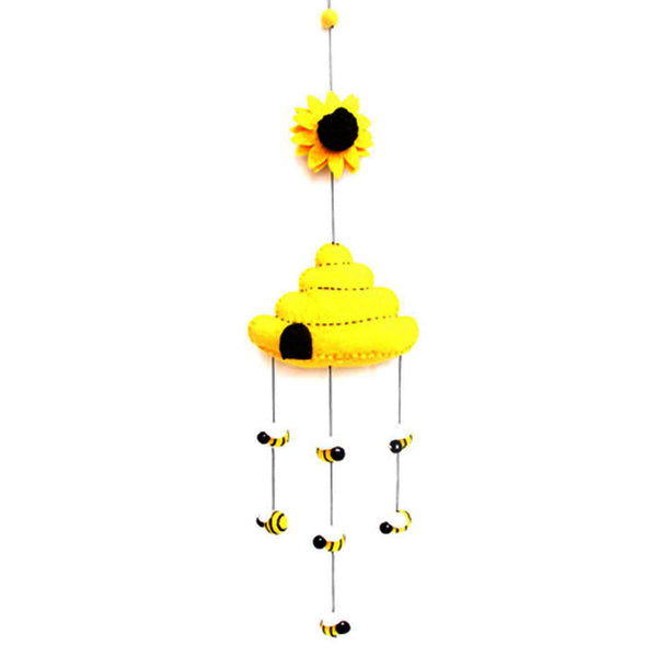 Felt Beehive Mobile - - Good World Goods