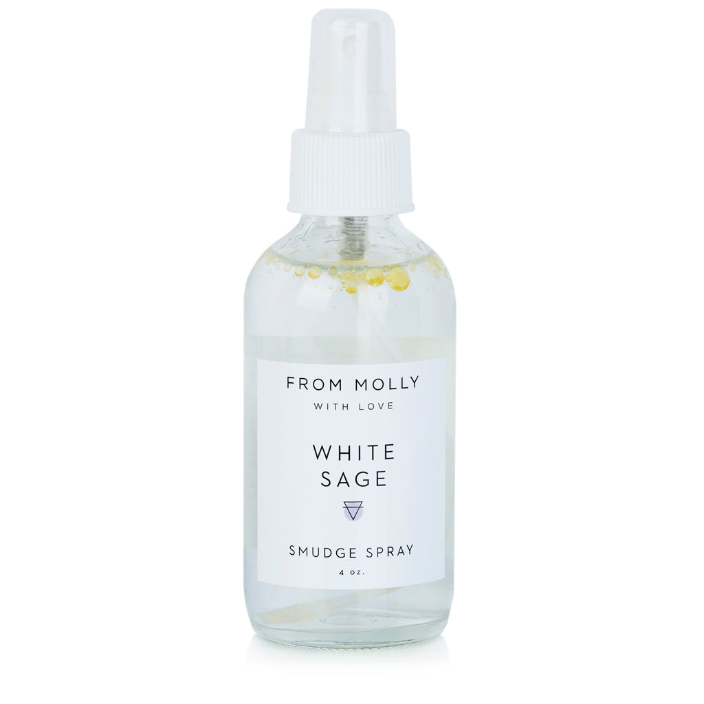 From Molly With Love - White Sage Smudge Spray 1 oz - Good World Goods