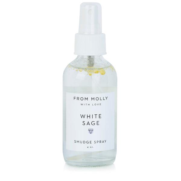 From Molly With Love - White Sage Smudge Spray 1 oz