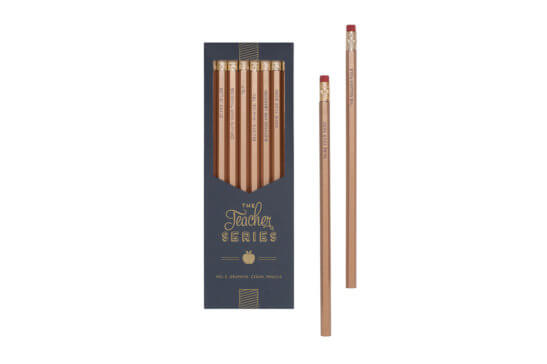 Teacher Series Pencil Set - variety of quotes - Good World Goods