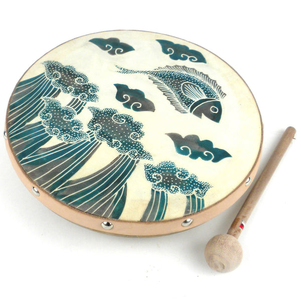 Frame Drum Jumping Fish - Jamtown World Instruments - Good World Goods