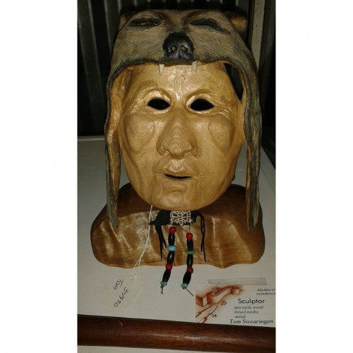 Cherokee Native American Mask - Good World Goods