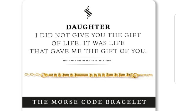 """Daughter"" Bracelet - 14k Gold Filled"