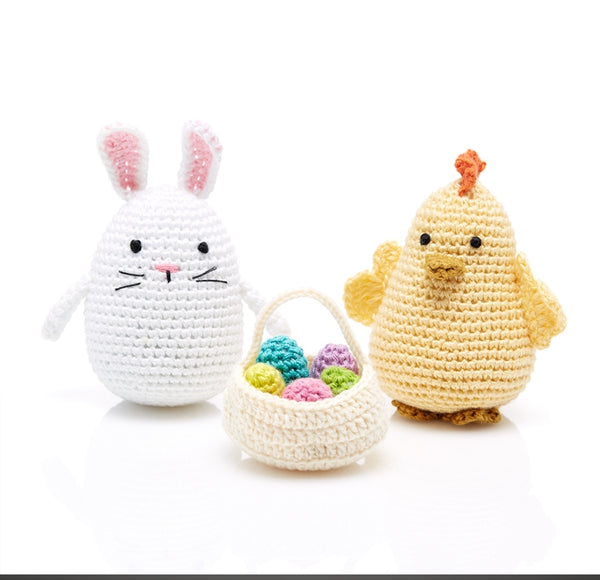 Bunny and Chick Set, Crochet - Good World Goods