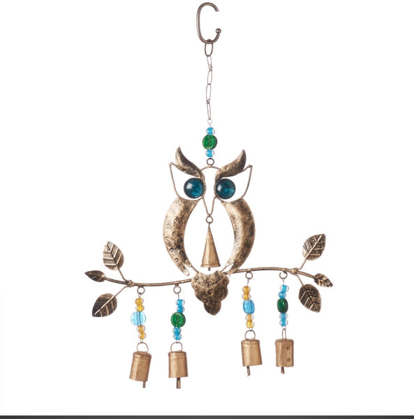Owl wind chime - Good World Goods