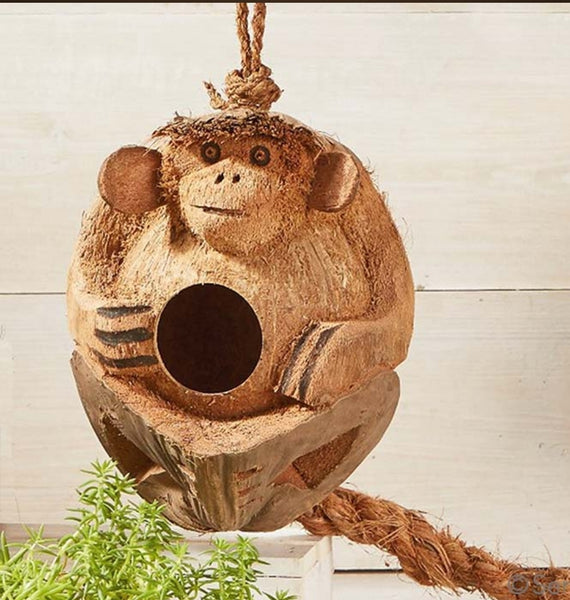 Monkey Bird House - Good World Goods