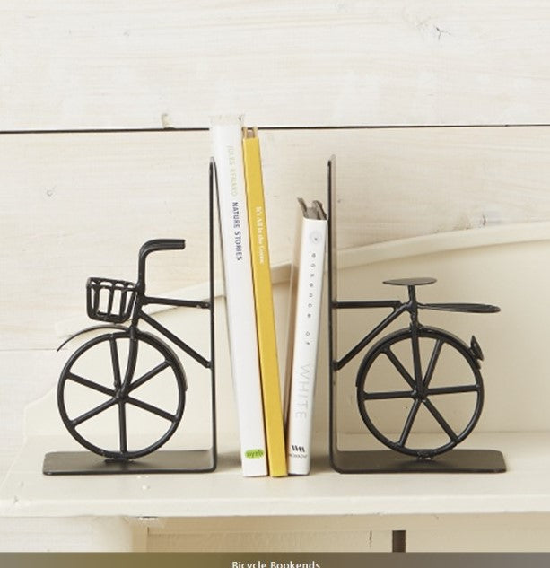 Bookends - Metal Bicycle