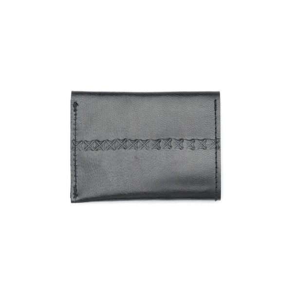 Sustainable Leather Wallet - Black - Good World Goods