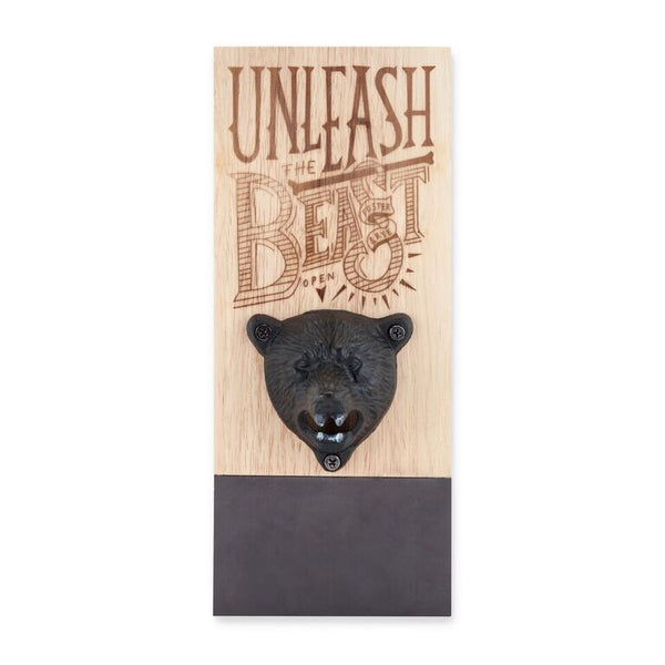Tame The Beast Magnetic Bottle Opener - Good World Goods