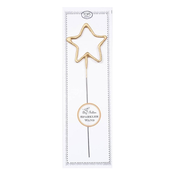 Big Golden Sparkler Wand Star - Good World Goods