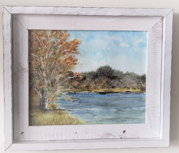 Early Fall at Soddy Lake - Original Art - Good World Goods