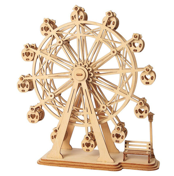 Paintable Puzzle - Ferris Wheel