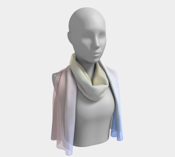 Sunset Sky Long Scarf