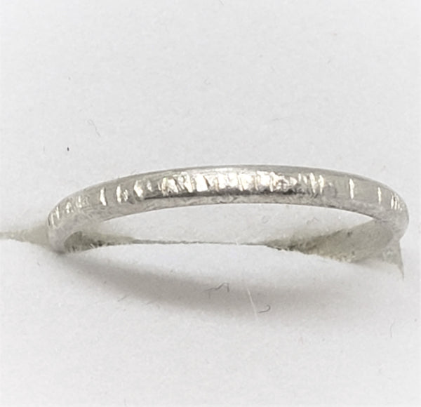 Sterling Formed Ring - size 6.5 - Good World Goods