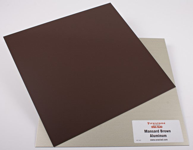 Mansard Brown Aluminum