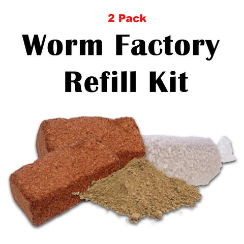Worm Factory Refill Package (2 Pack)