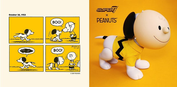 16 Inch Snoopy Wearing Charlie Brown Mask By Super7 At Sdcc