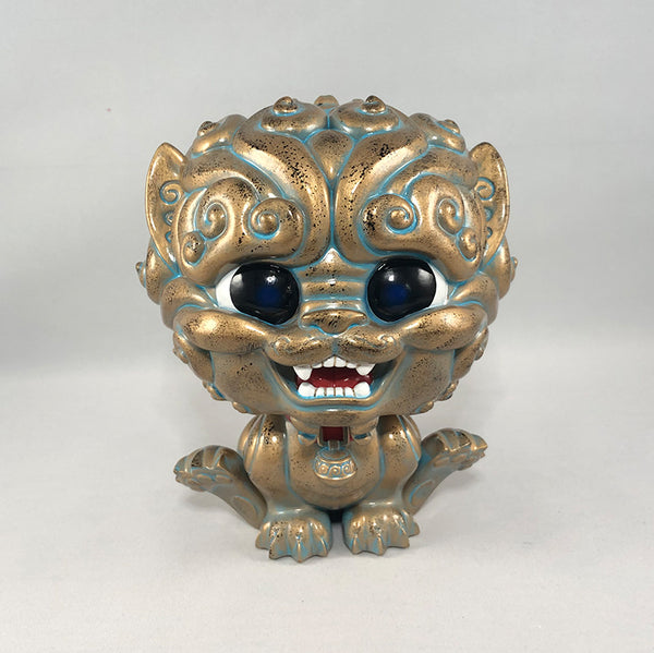 "Shi-Shi 6"" resin Bronze color"