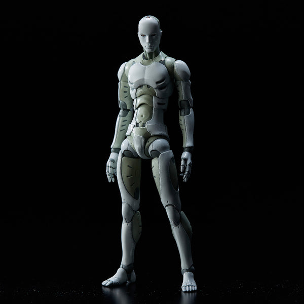 TOA Heavy Industries Synthetic Human 3rd Production Run Version 1:12-scale action figure by 1000toys
