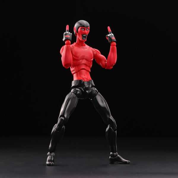 Nu:Synth Punk Drunkers AITSU Red 1:12-scale action figure by 1000toys