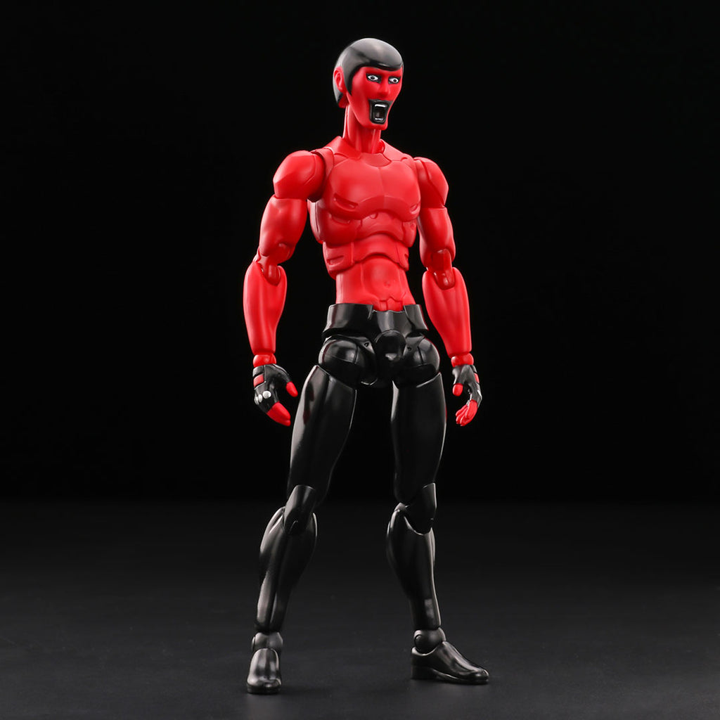 Nu:Synth Punk Drunkers AITSU Red 1:12-scale action figure by 1000toys 1000toys Action Figure Tenacious Toys®