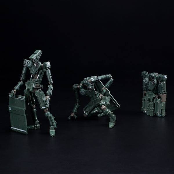 ROBOX Basic Green Painted 1/12-scale action figure by 1000toys